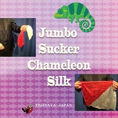 Jumbo Sucker Chameleon Silk  by Tejinaya Magic - Trick