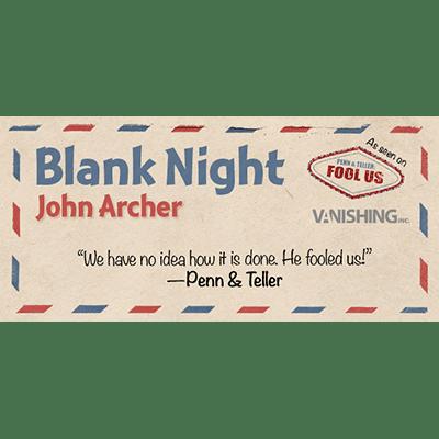 Blank Night (Yellow) by John Archer - Trick