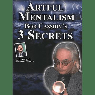 Artful Mentalism: Bob Cassidy's 3 Secrets - AUDIO DOWNLOAD