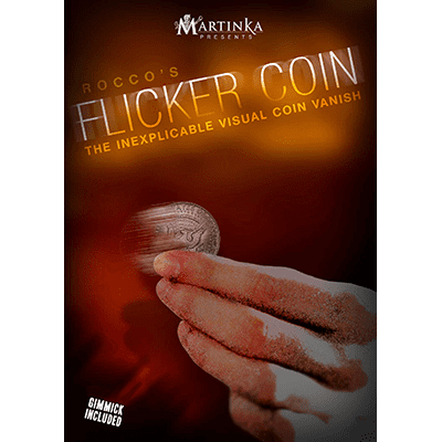 Flicker Coin (Quarter) by Rocco - Trick