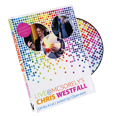 Live at McSorely's UK version (DVD and Gimmick) by Chris Westfall and Vanishing Inc. - DVD
