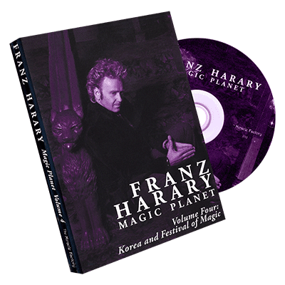 Magic Planet vol. 4: Korea and The Seoul Festival of Magic  by Franz Harary and The Miracle Factory - DVD