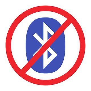 No Bluetooth
