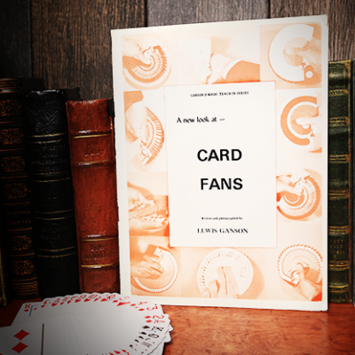 A New Look at Card Fans by Lewis Ganson - Book