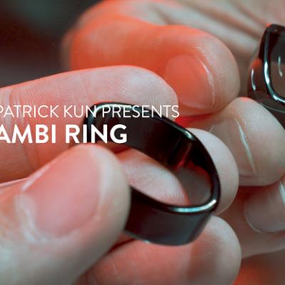 Ambi Ring Black by Patrick Kun - Trick