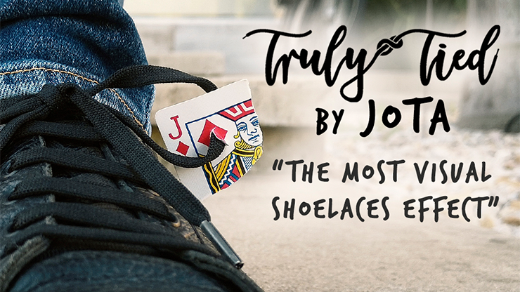 Truly Tied BLACK (Gimmick and Online Instructions) by JOTA - Trick