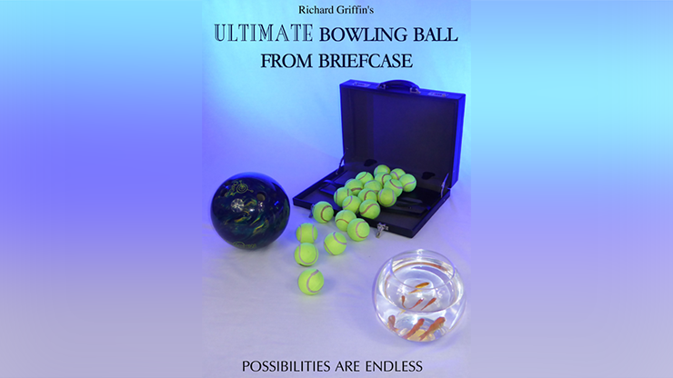 ULTIMATE BOWLING BALL FROM BRIEFCASE by Richard Griffin - Trick