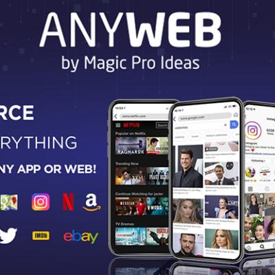 AnyWeb by Magic Pro Ideas - Trick