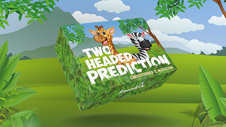 Two-Headed Prediction (Gimmicks and Online Instructions) by Christopher T. Magician - Trick