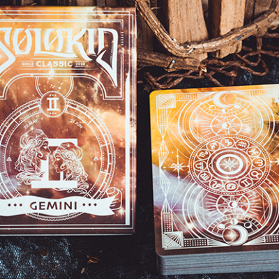 Solokid Constellation Series V2 (Gemini) Playing Cards by Solokid Playing Card Co.
