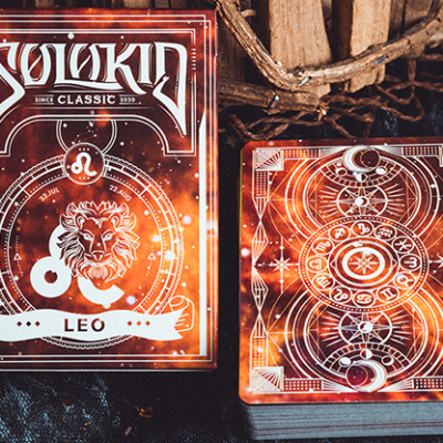 Solokid Constellation Series V2 (Leo) Playing Cards by Solokid Playing Card Co.