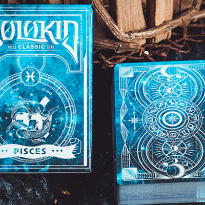 Solokid Constellation Series v2 (Pisces) Playing Cards by Solokid Playing Card Co.