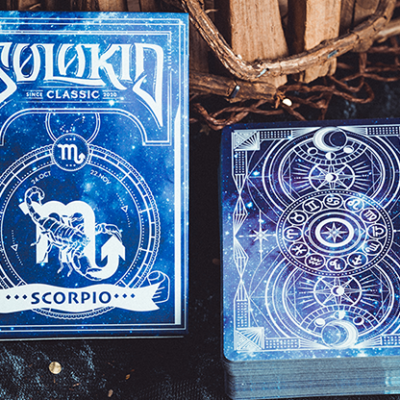 Solokid Constellation Series V2 (Scorpio) Playing Cards by Solokid Playing Card Co.