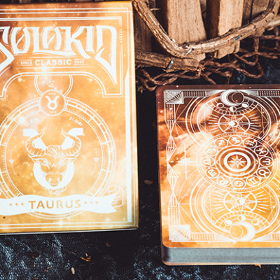 Solokid Constellation Series V2 (Taurus) Playing Cards by Solokid Playing Card Co.