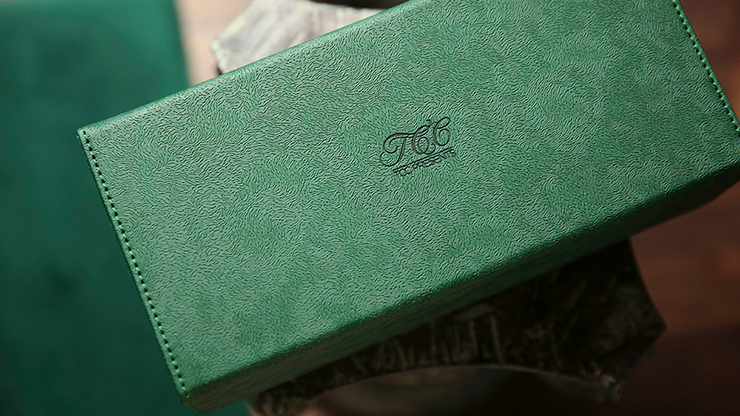 Playing Card Collection GREEN 12 Deck Box by TCC - Trick